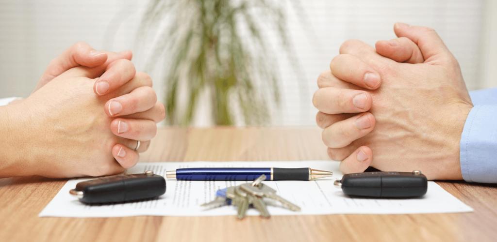 dividing real estate in divorce